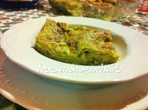 Lasagna al pesto 1