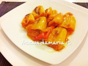 Peperoni ripieni alle verdure 1