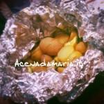 Cartoccio di patate e zucchine al forno