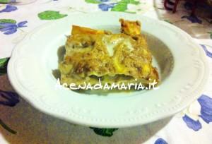 Lasagne ai funghi 1
