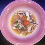 Calamari con pomodorini perino